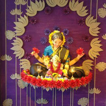 Motherly Love (Parvati and Ganesha) Eco Friendly Theme
